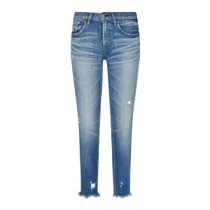 Jean Diana Skinny Coton Denim Bleu