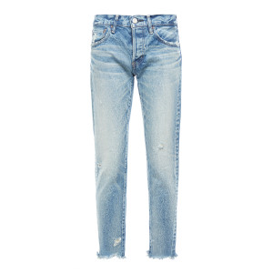 Jean Keller Tapered Denim Bleu Clair