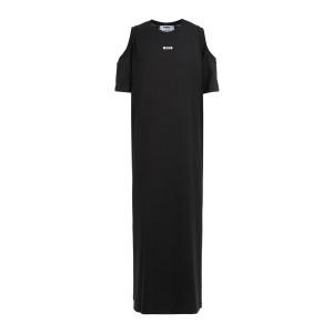 Robe Longue Coton Noir
