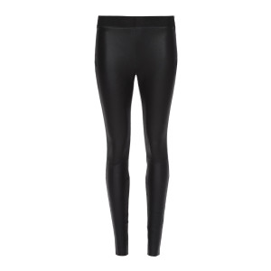 Legging STR Cuir Noir