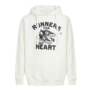 Sweatshirt Hoodie Hearth Coton Écru