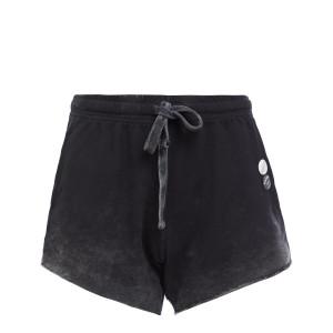 Short Plain Coton Noir
