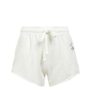 Short Plain Coton Écru