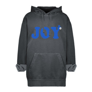 Sweatshirt Hoodie Joy Coton Pepper