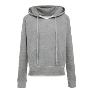 Sweatshirt Rayne Coton Gris Chiné