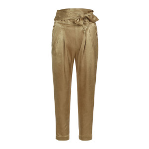 Pantalon Virgil Satin Doré