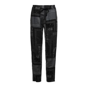 Pantalon Yucca Ramie Bandana Grey Imprimé