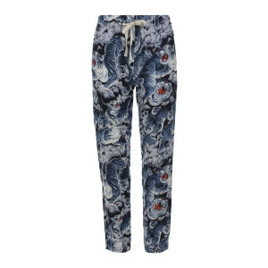 Pantalon Yucca Lin Tiger Blue Imprimé