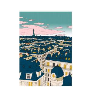 Affiche Paris 30x40cm