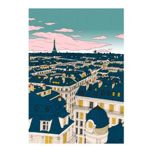 Affiche Paris 56x76cm