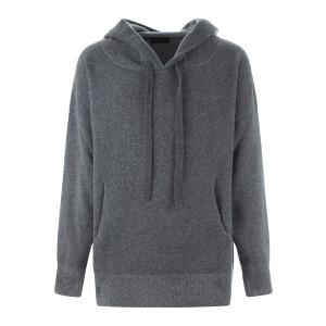 Sweatshirt Hoodie Laine Gris