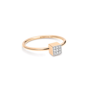 Bague Ever Mini Square Diamants
