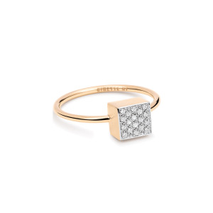 Bague Ever Baby Square Diamants