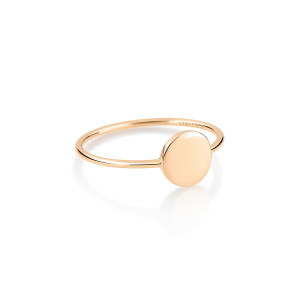 Bague Mini Ever Disc Or Rose