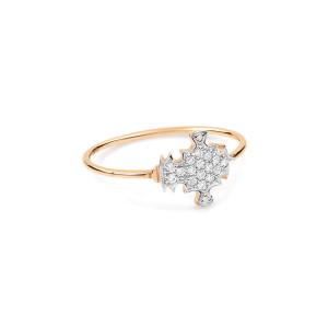 Bague Tanger Or et Diamants