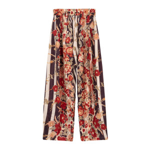Pantalon Samuel Soie Imprimé Floral Combo