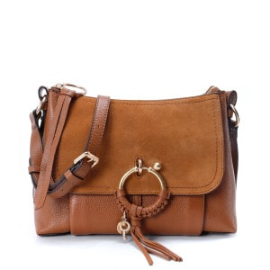 Sac Joan PM Cuir Grainé Caramel