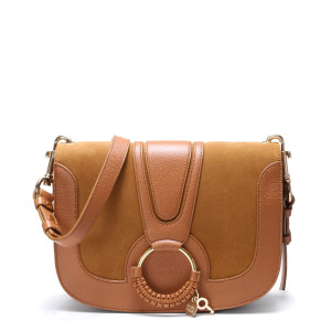 Sac Hana GM Double Cuir Caramel
