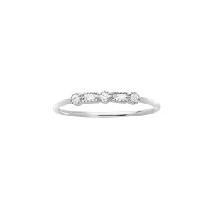 Bague Simple Serenity Or Diamants