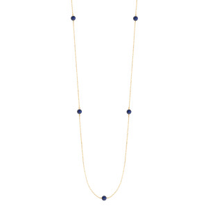 Sautoir Massilia Lapis Lazuli