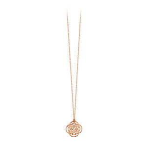 Collier Purity Mini Or Rose