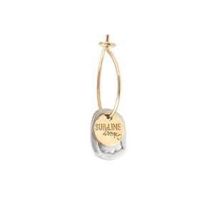 Créole Sublime Médaille Argent Or (vendue à l'unité)