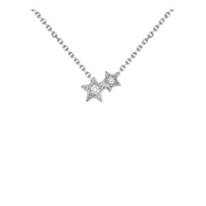 Collier Stardust Or Diamants