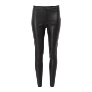Pantalon Carlson Agneau Plongé Regular Noir