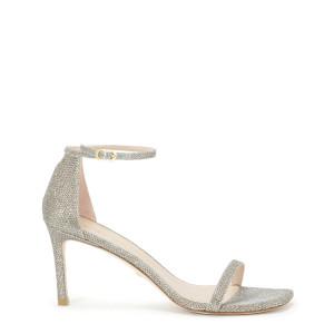 Sandales Amelina 75 Cuir Platinum