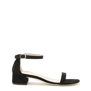 Sandales Nudistjune Cuir Suédé Noir