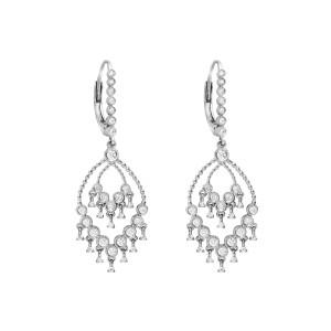 Boucles d'oreilles Talitha Dormeuses Diamants