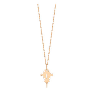 Collier Tanger Or Rose Mini