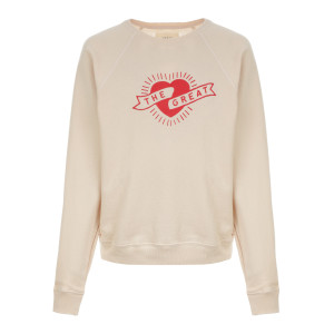 Sweatshirt The Shrunken Coton Rose