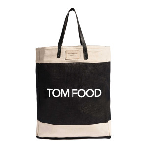 Cabas Toile de Jute TOM FOOD