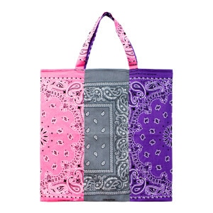 Sac Bandana Tricolore Mix Rose