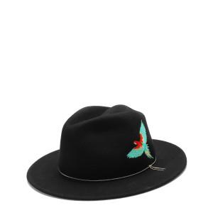 Chapeau Le Dakota Laine Noir Spice
