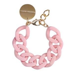 Bracelet Flat Rose Bubble Gum