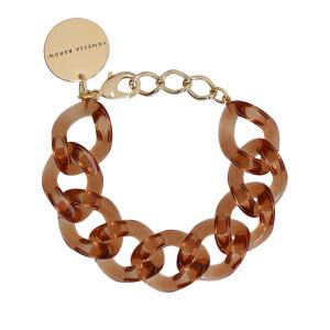 Bracelet Flat Marron Clair