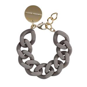 Bracelet Flat Taupe Foncé