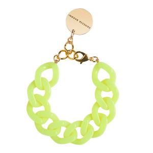 Bracelet Flat Neon Jaune