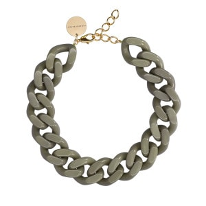 Collier Big Flat  Olive