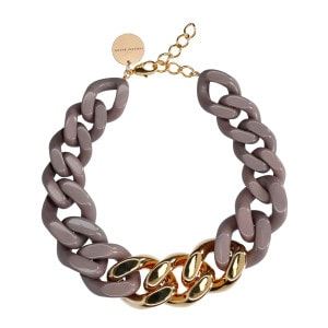 Collier Great Dark Taupe Gold