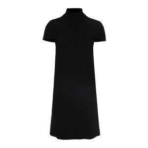 Robe Cape Crêpe Noir