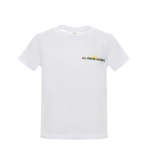 Tee-shirt Logo Slim Fit Blanc