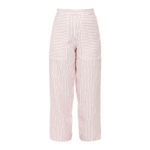 Pantalon Galien Ivoire Rouge