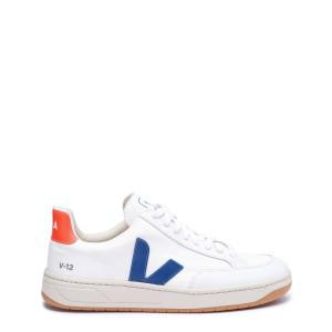 Baskets V-12 B-Mesh Blanc Indigo Orange