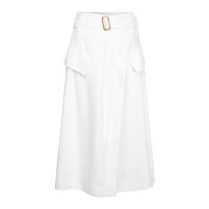 Jupe Boucle Blanc