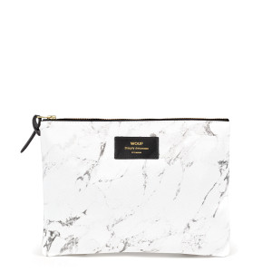 Trousse XL White Marble
