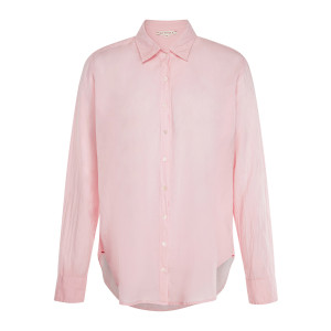 Chemise Beau Coton Rose Corail