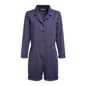 Combinaison Short Hartley Coton Bleu
